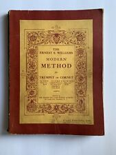 Ernest S Williams Modern Method Trumpet Cornet Sheet Music 1938