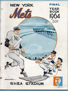 1964 New York Mets Yearbook - Final Edition