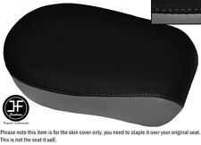 BLACK & GREY VINYL CUSTOM FITS YAMAHA XVS 650 CLASSIC V STAR REAR SEAT COVER
