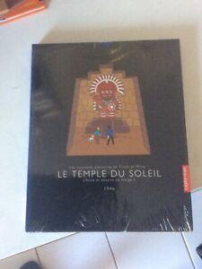 HERGE - TINTIN - LE TEMPLE DU SOLEIL - 2003 NEUF SOUS BLISTER
