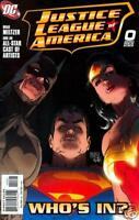 Justice League of America #0 Batman Superman Comic Book - DC