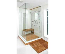 "The House of Teak Shower Mat Teak Bath/Shower/Door/Spa/Pool/ Deck  20""x20""x1"""