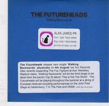 (EJ925) The Futureheads, Walking Backwards - 2008 DJ CD