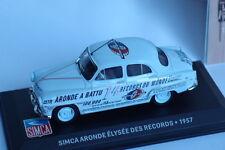 ALTAYA  SIMCA ARONDE ELYSEE DES RECORDS 1957 1/43
