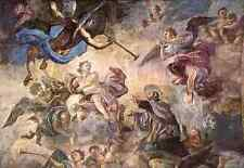 Solimena Francesco Saint Cajetan Appeasing Divine Anger A4 Print