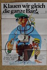 (P175) KINOPLAKAT Klauen wir gleich die ganze Bank (1974) Bank Shot