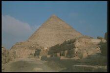 030010 Khufu Pirámide de Giza meseta de El Cairo A4 Foto Impresión