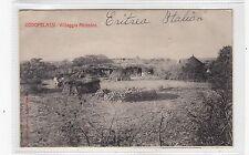 GODOFELASSI - VILLAGGIO ABISSINO: Italian Eritrea postcard (C26945)