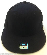 Adidas Black Structured Cap Hat NEW!