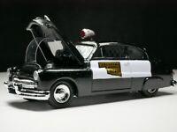 1949 Mercury 1/64 Scale Diorama Car Oklahoma Highway Patrol Real Riders Police