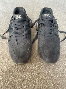 Asics Gel Kayano Suede Trainers Concrete Grey UK 8 H6M2L