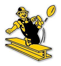 Pittsburgh Steelers Retro  Decal / Sticker Die cut