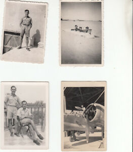 Collection of Military photos in film wallet L North, Chemist, Northampton