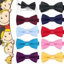 Kids Bow Tie Bowtie Baby Wedding Tuxedo Formal Party Pretied Necktie Boy 10*5cm