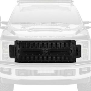 For Ford F-250 Super Duty 17-19 Main Grille 1-Pc Laser Stealth Metal Series
