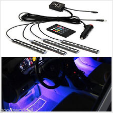 Neon Light Underdash Lighting Kit Atmosphere Lamp with Sound Active Function OEM