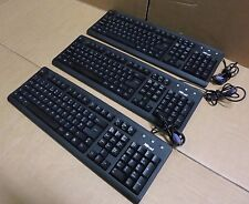 3 x ITrust KB-1120 Keyboard Wired QWERTY Black PS2 14550