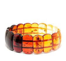 Einzigartig Luxuriös Baltischer Bernstein Armband Mehrfarbig 20.5 g
