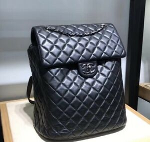 Authentic Chanel backpack Lambskin 2018