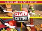 Clever Cutter 2-in-1 Cutting Board Scissors  Multifunctional Knife As Seen On TV