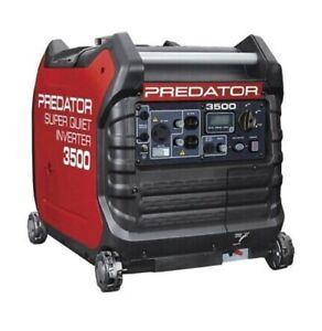 predator 3500 super quiet inverter generator BRAND NEW/ IN BOX STILL