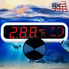 Led Digital Waterproof Fish Aquarium Guage Water Tank Temperature Thermometer Us