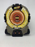 Nerf N-Strike Target Electronic Talking Dart Board Orange/Yellow - Tested