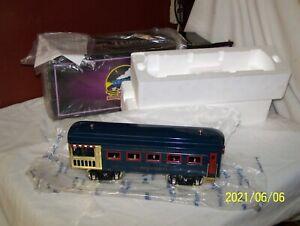 MTH 10-5103D STANDARD GAUGE TINPLATE DORFAN OBSERVATION CAR #773 BLUE ~ NOS !