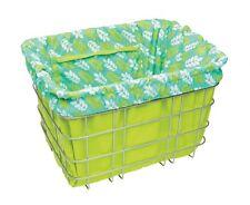Electra Baskit Liner Green/Leave Inlay für Fahrradkorb, Wende Tasche Beute, Mint