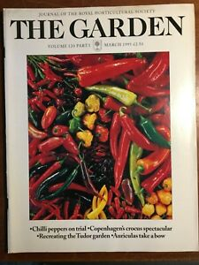THE ROYAL HORTICULTURAL SOCIETY THE GARDEN JOURNAL MARCH 1995 VOL 120 PART 3