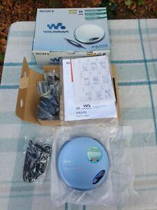 Sony CD Walkman D-EJ775 All Appears Unused & New in Box With Original Receipt