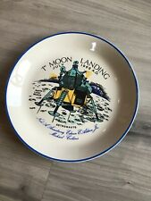 Apollo 11 1st Moon Landing 1969 Plate Crown Ducal Astronauts Neil Armstrong