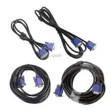 1.5m 3m 5m 10m 1080P Proffesional VGA HD Male To Male Extension Cable Cord PC