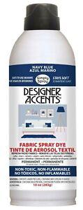 Simply Spray Upholstery Fabric Paint - Pram Hood Apron Dye - Navy Black Grey