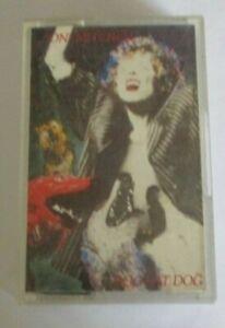 Joni Mitchell cassette Dog eat Dog, 40-26455, geffen records, 1985
