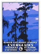 Everglades National Park Service WPA Florida Ranger Art Print Poster 18