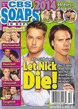 Justin Hartley, Joshua Morrow, Year In Review - Dec. 15, 2014 CBS Soaps In Depth