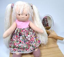 Stoffpuppe nach Waldorf Art. Puppe Anja 36 cm. Handgemacht