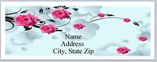Personalized Address Labels Beautiful Pink Roses Buy 3 get 1 free (P 526)