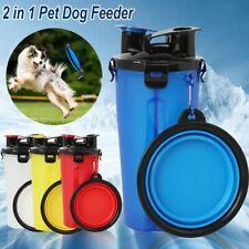 Cup Storage Container Pet Drinking Bottle Dog Food Dispenser Cat Feeder Bowl