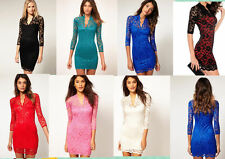 Clubwear Hand-wash Only Solid Regular Size Dresses for Women