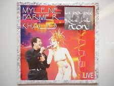 "Mylene Farmer cd Promo La Poupée Qui Fait Non ""live"""