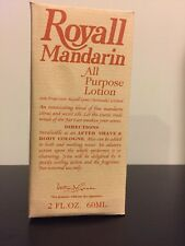 Royall Mandarin by Royall Fragrances, 2oz 60ml All Purpose Lotion for men In Box