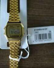 Casio A159WA-N1DF Classic Vintage Wrist Unisex Watch for Men and Women Gold