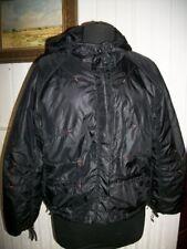 Blouson veste courte blouson à capuche noir imperméable ANIMALE Taille 1 36 38