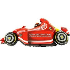 Speedy Red F1 Racing Car Large Foil Balloon 49 inch Birthday Party Event Decor