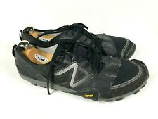 New Balance minimus trail running shoes MT10BS2 men's US 14 black/silver 2e