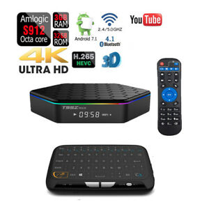 Octa Core T95Z PLUS 32GB Android 7.1 Dual Wifi 1080p 4K Bluetooth Smart TV Box