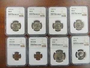 NGC Graded coin lot! Susan B Anthony, Proof Half, and much more! lot 139