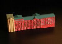 GL61 Factory Silo Gebäude für Schiffsmodelle painted